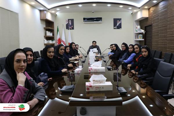 بازدید دانشجویان مرکز آموزش عالی جواد الائمه