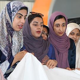 بازدید دانشجویان دانشگاه تربیت معلم کازرون از شرکت تعاونی تولیدی پیشگامان صنعت سبز